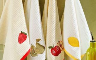Отбеливание кухонных полотенец растительным маслом: 5 лучших способов