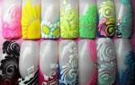 Дизайн ногтей: учимся использовать трафареты правильно