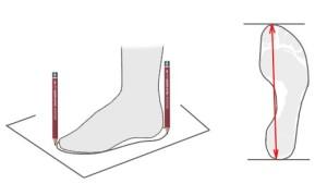 Какой размер женской обуви выбрать при длине стопы 24 см