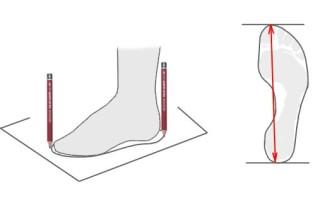 Какой размер мужской обуви соответствует длине стопы 27 см в зависимости от страны-производителя
