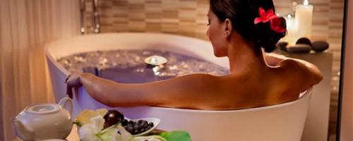 Польза и вред ванн с морской солью