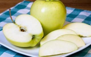 Сколько калорий в яблоках сорта Голден