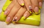 Как рисовать узоры на ногтях акриловыми красками