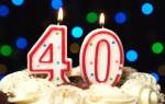 Можно или нельзя отмечать день рождения 40 лет: мнение церкви и народные приметы