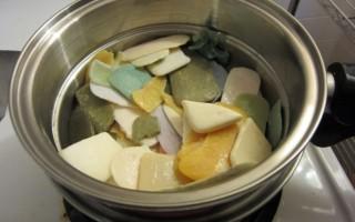 Делаем целый кусок мыла из обмылков: простые способы