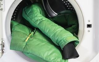 Как постирать и не испортить пуховик в машине-автомат