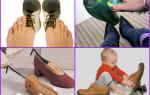 Как можно растянуть кожаную обувь в ширину или на размер больше