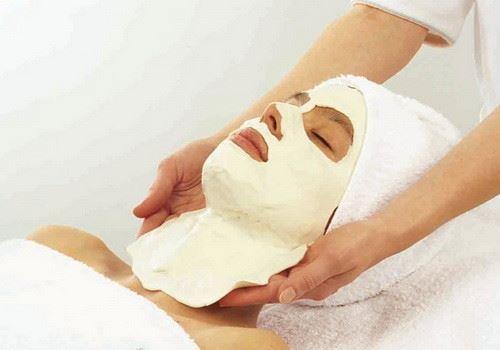 снятие альгинатной маски