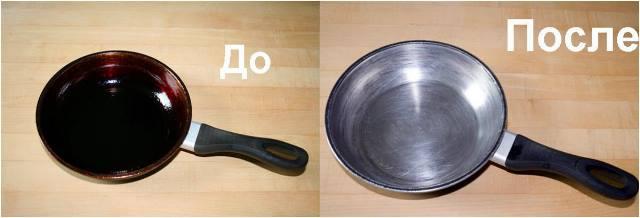 Как легко и быстро очистить чугунные сковородки