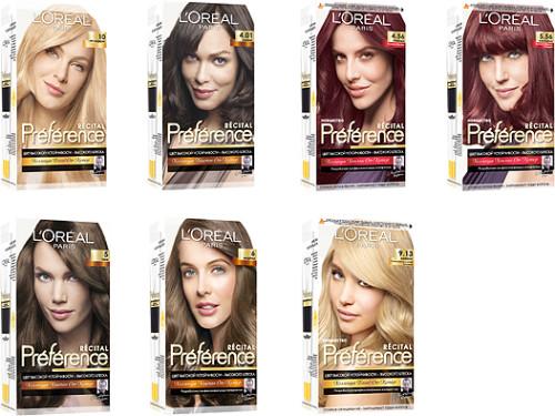 "краска для волос ""Лореаль"""