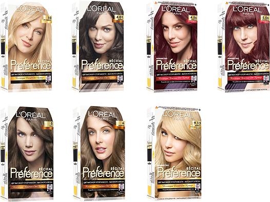 теплые тона краски для волос