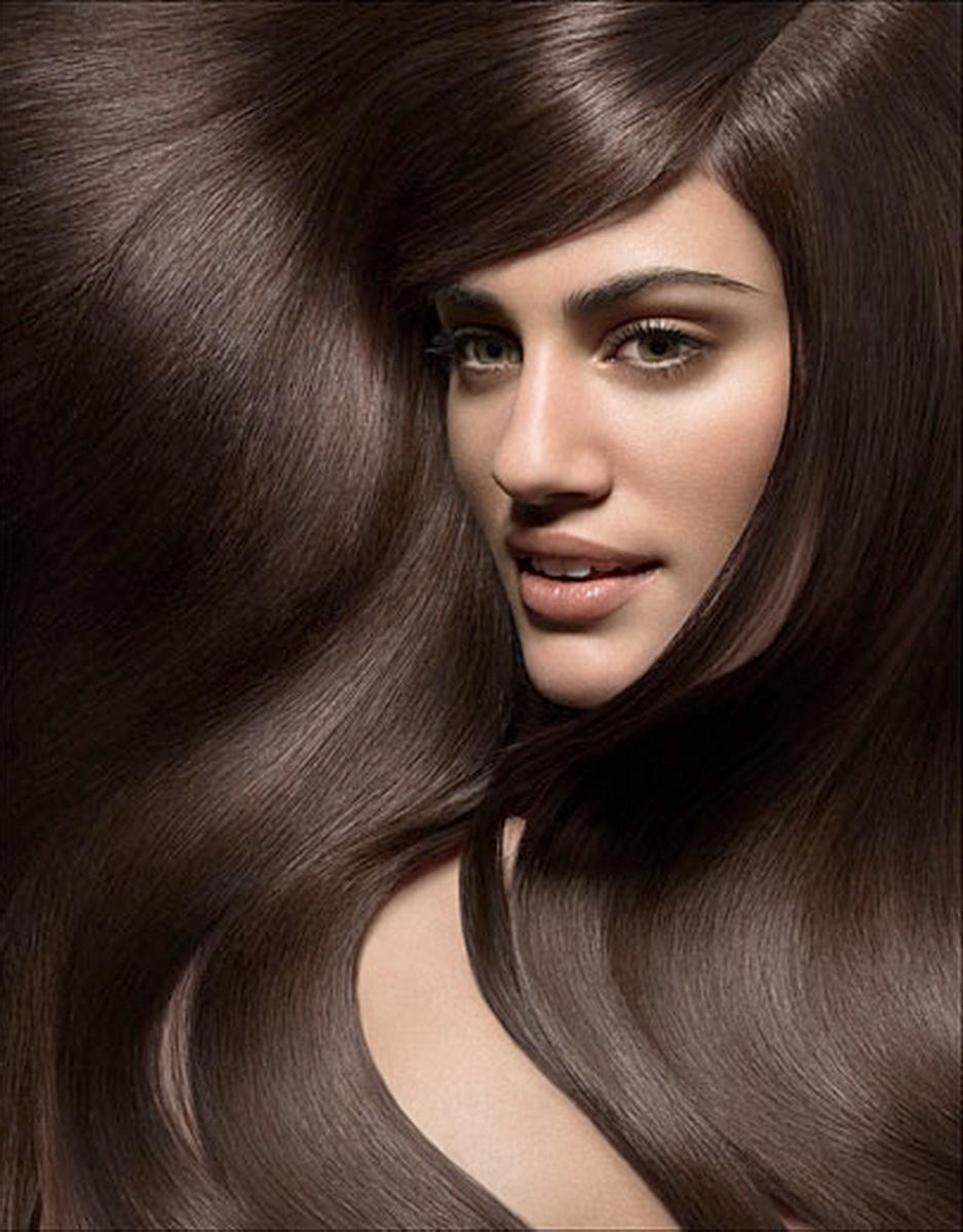 Цвет волос холодно коричневый