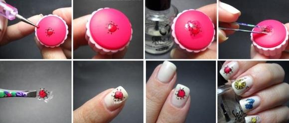 Трафареты для дизайна ногтей как пользоваться