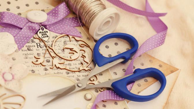 ножницы, нитки