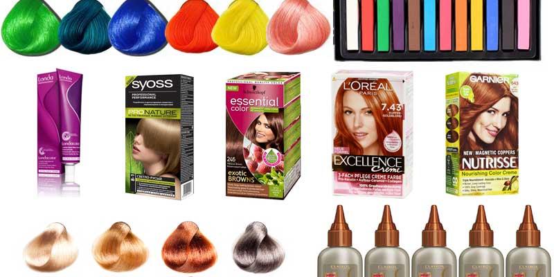 Краска для волос лучшая в домашних условиях