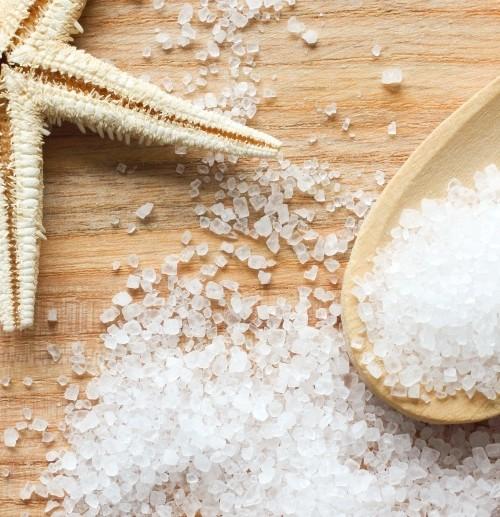 кристаллы морской соли