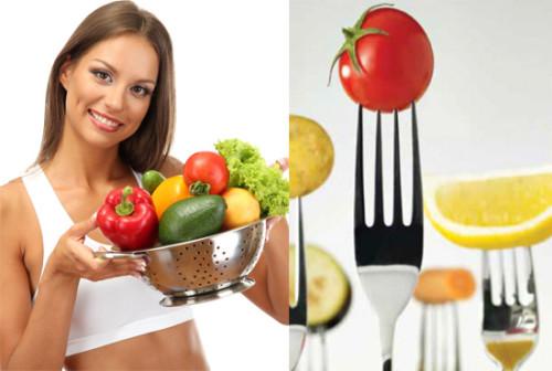 овощи - правильное питание