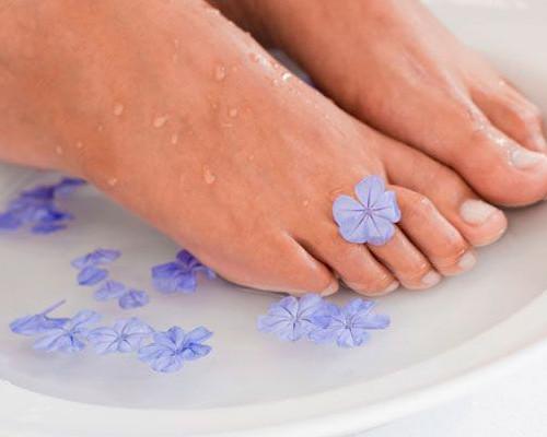 солевая ванна для ног