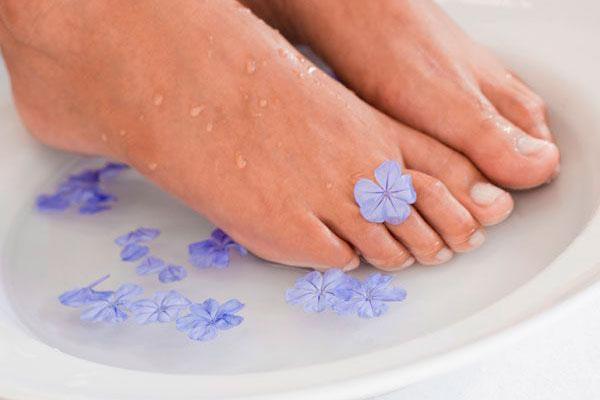 горячая ванна для ног