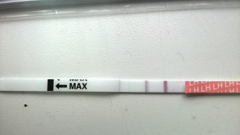 Тест на беременность нечеткий