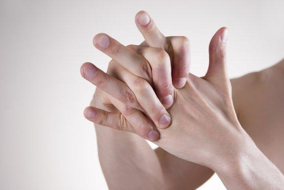 хруст суставов пальцев