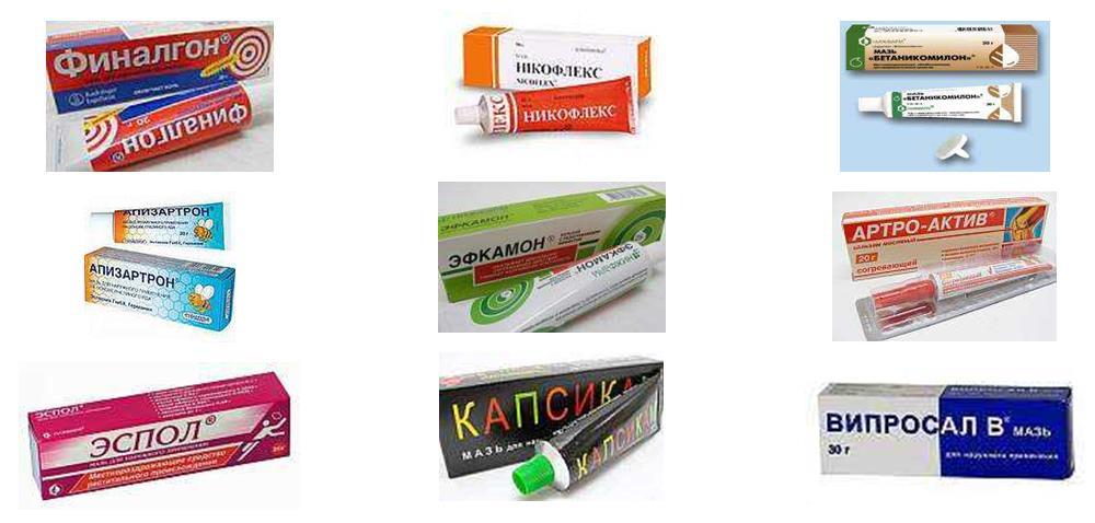 препараты с согревающим эффектом