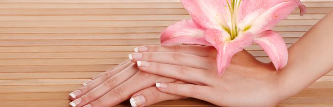 Отбелить ногти в домашних условиях быстро