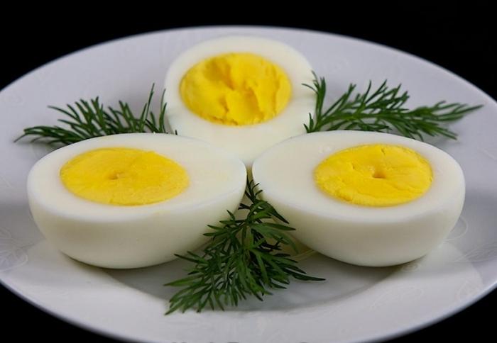 яйца сваренные вкрутую