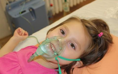 проведение оксигенации у ребенка