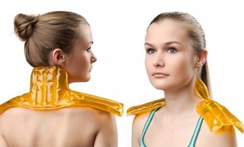 применение грелки при болях в шее