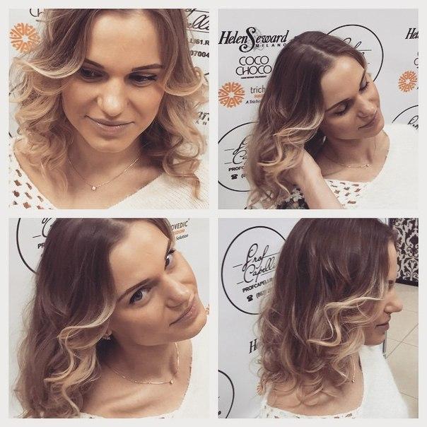новый вид окрашивания волос
