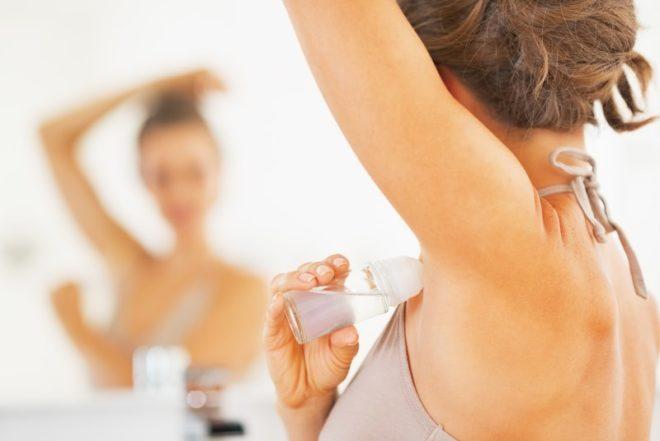 использование дезодорантов