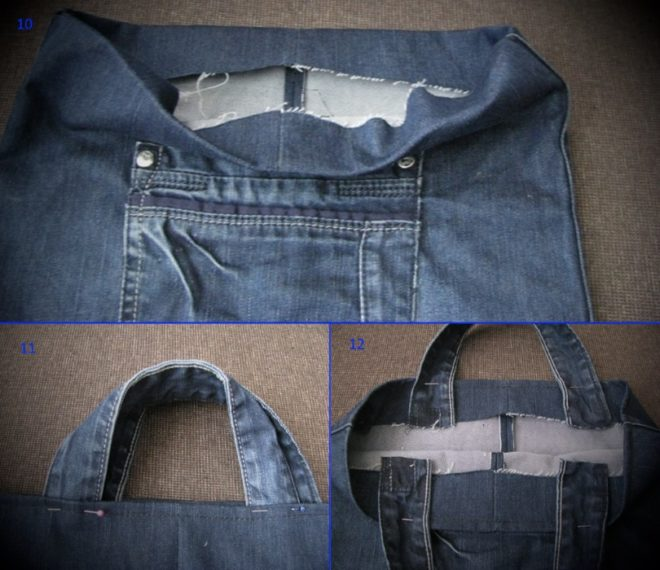 kak-poshit-sumku-iz-staryh-dzhinsov-10-12 Большая пляжная сумка из старых джинсов своими руками