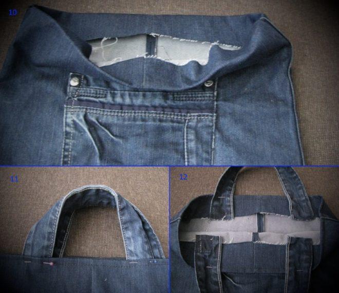 kak-poshit-sumku-iz-staryh-dzhinsov-10-12 Интересные варианты пошива сумок из старых джинс