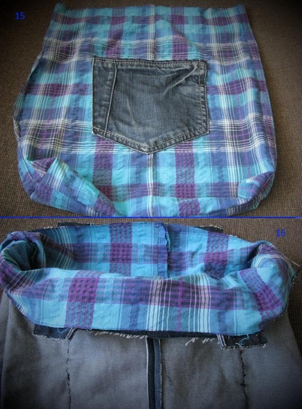 kak-poshit-sumku-iz-staryh-dzhinsov-15-16 Большая пляжная сумка из старых джинсов своими руками