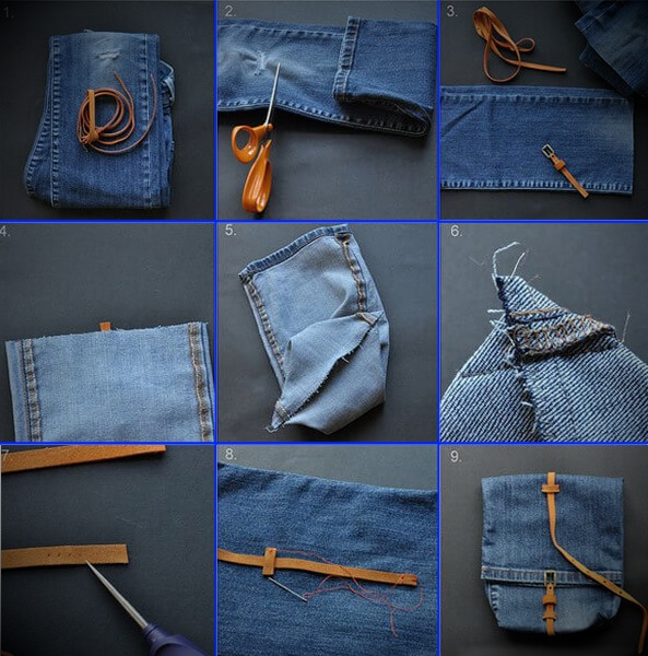 kak-poshit-sumku-iz-staryh-dzhinsov-34 Интересные варианты пошива сумок из старых джинс