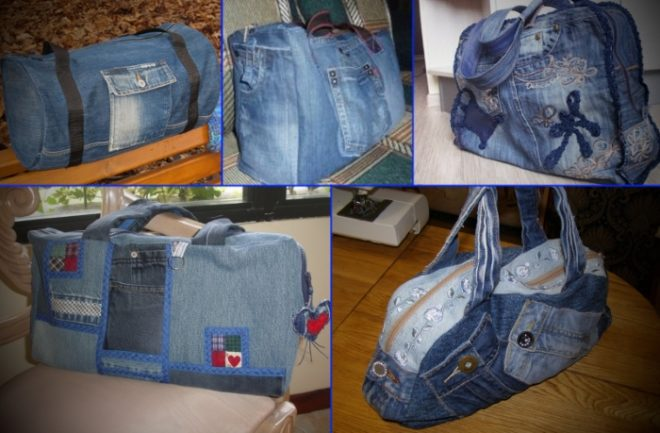 kak-poshit-sumku-iz-staryh-dzhinsov-39 Интересные варианты пошива сумок из старых джинс