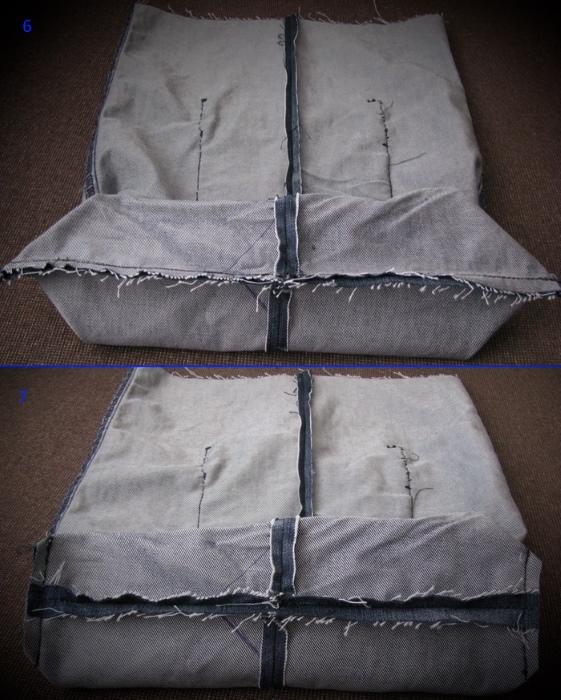 kak-poshit-sumku-iz-staryh-dzhinsov-6-7 Большая пляжная сумка из старых джинсов своими руками