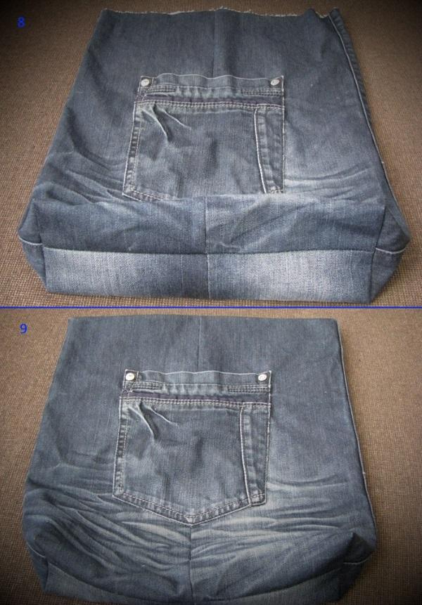 kak-poshit-sumku-iz-staryh-dzhinsov-8-9 Интересные варианты пошива сумок из старых джинс