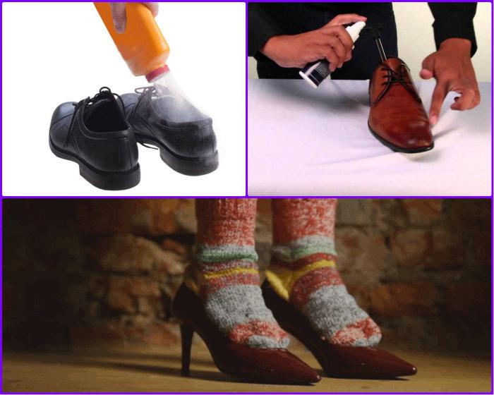 Слишком узкая новая обувь как разносить туфли
