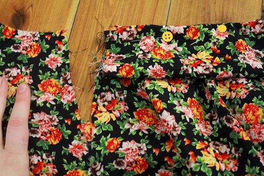 Шитье юбки-солнце