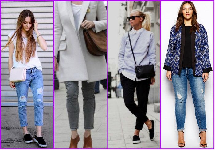 Варианты укороченных женских брюк