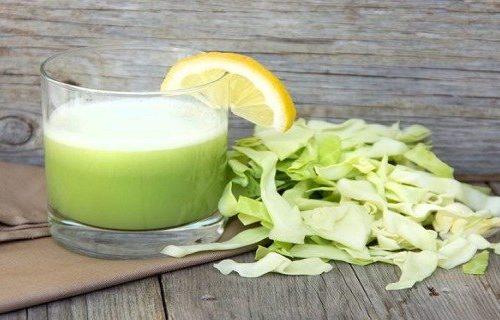 Сок из капусты