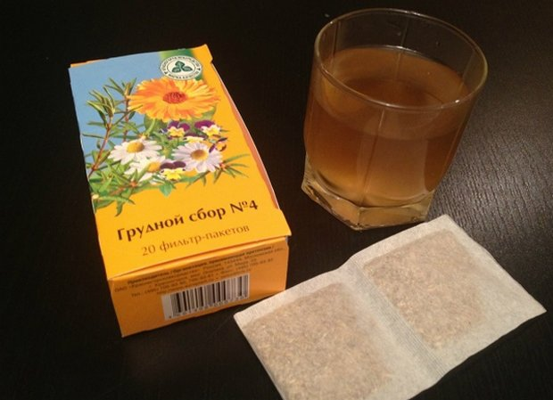 лечение сбором трав №4