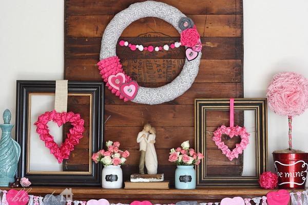 Декор ко Дню влюбленных
