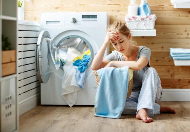 На работает стиральная машина