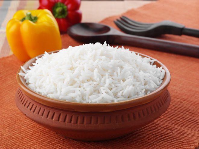Тарелка с рисом