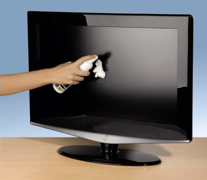 чистка телевизора