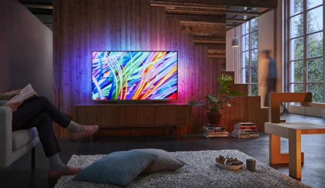 красивый телевизор в интерьере